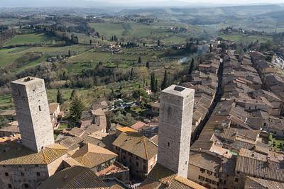 San Gimignano - San Gimignano, Siena, Italy - March 26, 2016