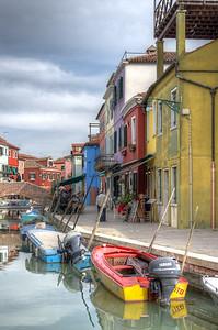 Burano - Venice, Italy - April 18, 2014