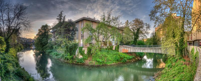 Bacchiglione River - Padova, Italy - April 9, 2012
