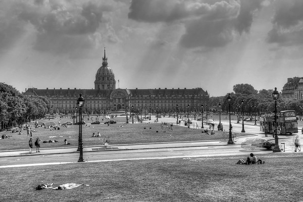 Esplanade des Invalides - Paris, France - April 23, 2011