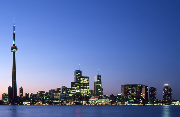 Toronto Skyline - Toronto, Ontario, Canada - About 1986