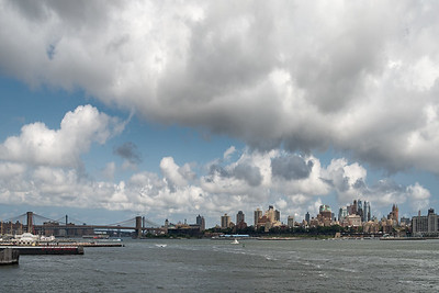 Brooklyn - Staten Island Ferry, New York, NY, USA - August 19, 2015