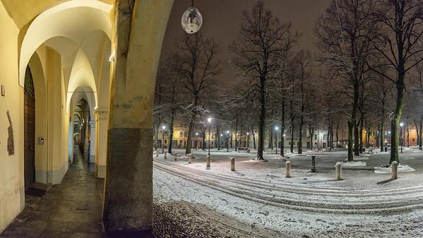 Piazza Fontanesi - Reggio Emilia, Italy - January 30, 2019