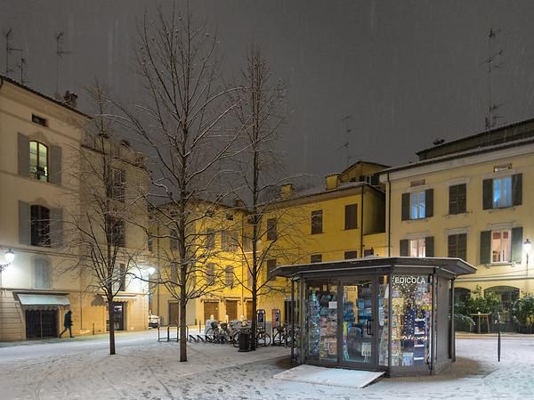 Piazza XXIV Maggio - Reggio Emilia, Italy - January 30, 2019
