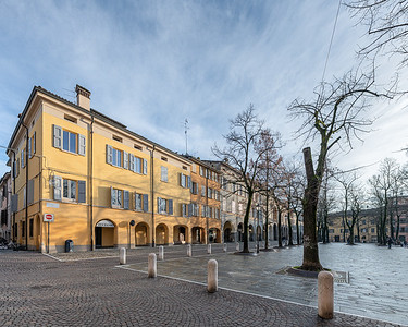 Piazza Fontanesi - Reggio Emilia, Italy - January 24, 2020
