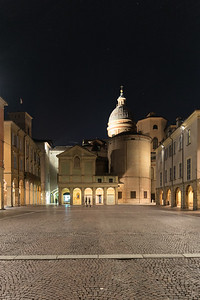 Piazza San Prospero - Reggio Emilia, Italy - March 2, 2015