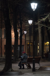 Piazza Fontanesi - Reggio Emilia, Italy - December 29, 2015