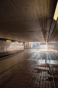 Underpass between Piazzale Marconi and Piazzale Europa - Reggio Emilia, Italy - February 9, 2019