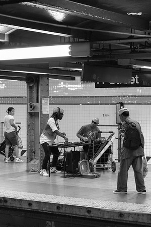 Subway - New York, NY, USA - August 21, 2015