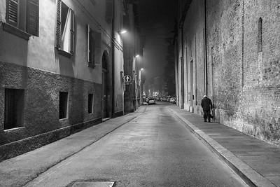 Via Gazzata - Reggio Emilia, Italy - February 2, 2016