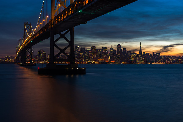 The Bay Bridge, San Francisco, CA