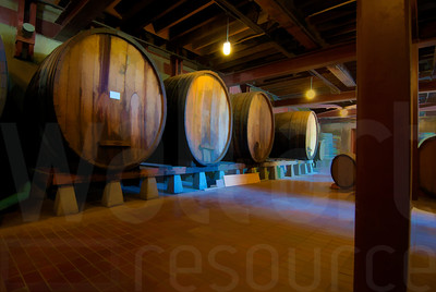 Napa Wine Barrels 002 | Wall Art Resource