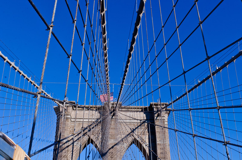 Everyone takes this shot. Why should I be any different. The Brooklyn Bridge