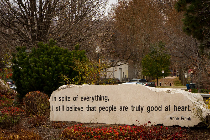 Anne Frank Quote ~ Boise, ID