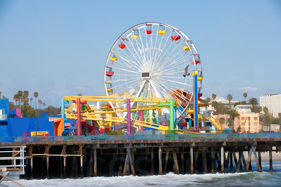 Boardwalk Amusement Park | Wall Art Resource