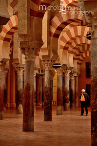© Michelle Brooker The Mesquita's Moorish pillars and arches.
