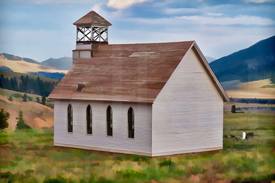 Historic Church 001 | Wall Art Resource
