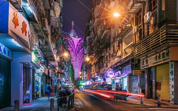 Macau Street Light