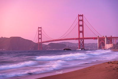 Sunset Golden Gate Bridge