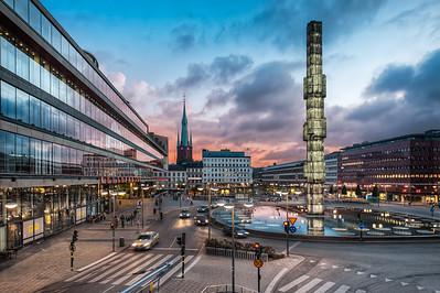 Sergels Torg || Stockholm Sweden