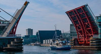 Bridge Open, inside Copenhagen