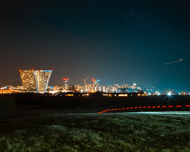 Night over Copenhagen