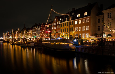 Nyhavn at Christmas time