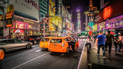 Night Action in New York City