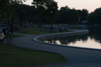 Curvy lake