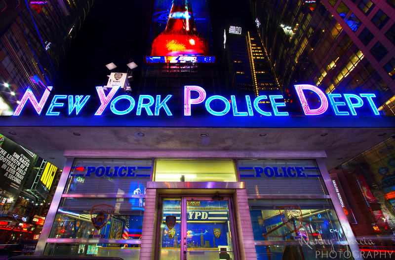 NYPD Office at Times Square