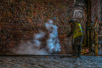 Cleaning the Gum Wall
