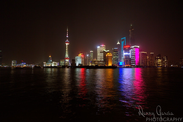 Night at The Bund