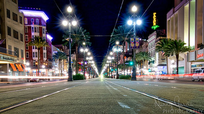 Miami Streets At Night