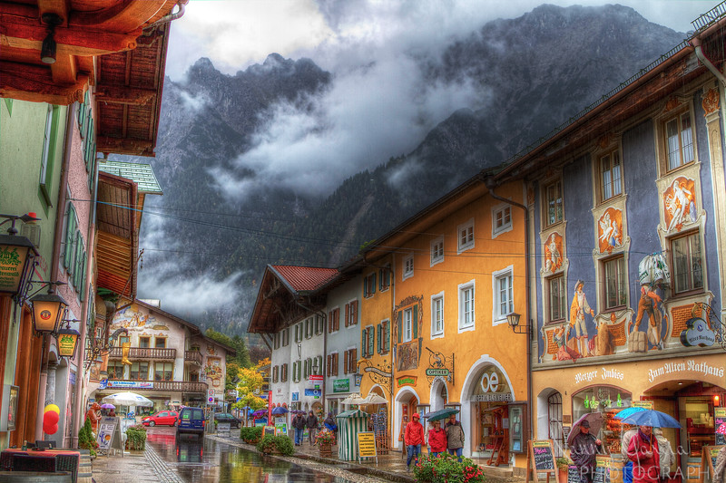 At the northern foothills of the Alps sits a fantastic little town called Mittenwald in Germany.  It's history goes back to the 14th century.