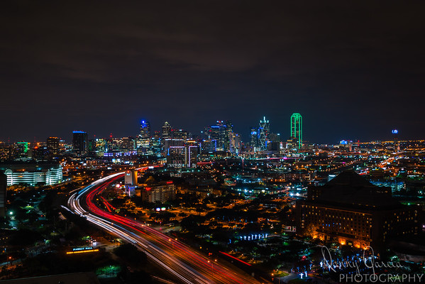 Downtown Dallas at Night