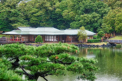 Hamarikyu Gardens Tea House