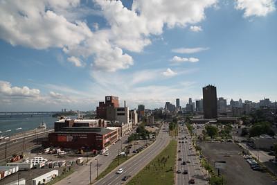 Cityview from the bridge