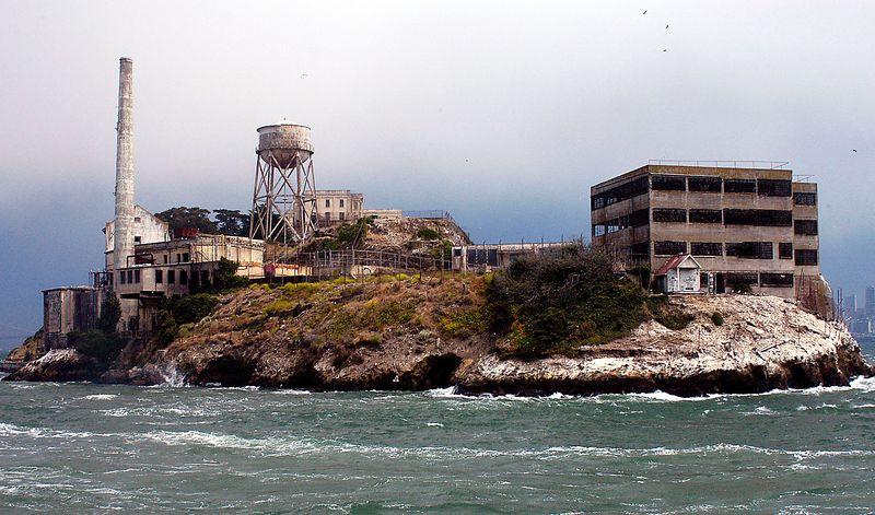 6-29-2005 -- The backside of Alcatraz.