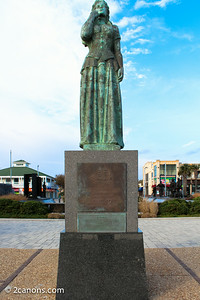 Norwegian Lady Statue at Virginia Beach, Virginia