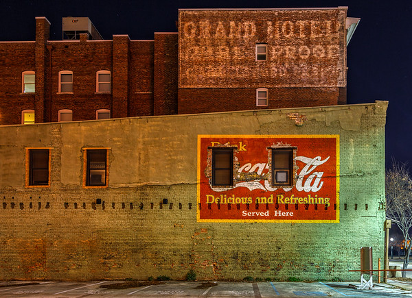 Coke Ghost Sign
