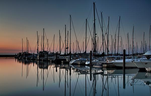 DuSable Harbor Dawn