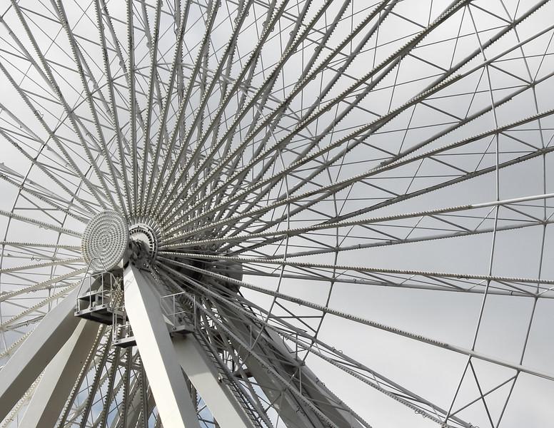 Navy Pier Ferris Wheel Structure