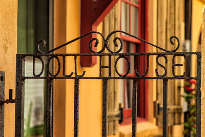 Doll House gate - St Augustine FL