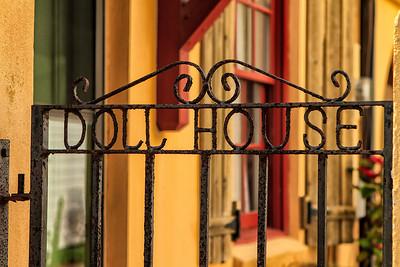 Doll House gate - St Augustine FL