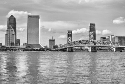 Downtown Jacksonville Florida Main St Bridge
