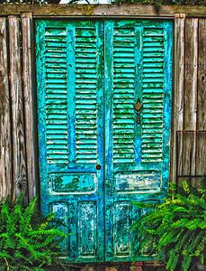 Rustic door - St Augustine FL