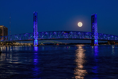 Super Moon Jacksonville FL