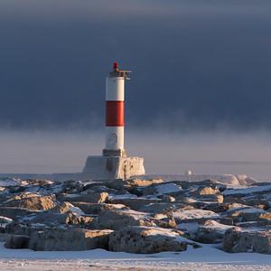 Ice Snow and Fog