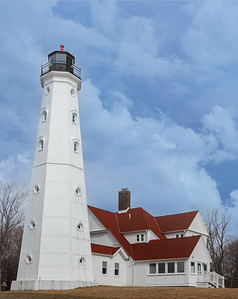 The North Point Lighthouse Museum is a lighthouse built in 1888 in Lake Park on the East Side of Milwaukee in Milwaukee County, Wisconsin, United States to mark the entrance to the Milwaukee River. The lighthouse was added to the National Register of Historic Places in 1984