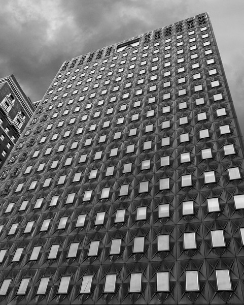 FHL Bank Building in Black & White